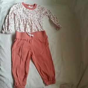 *5/$15* Burts bees baby 2 piece outfit